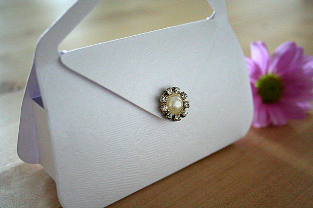 Capercaillie Cards - Wedding favour box - Shoulder Bag