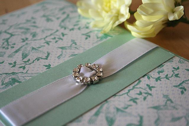 Capercaillie Cards - Wedding invitation card - Bella