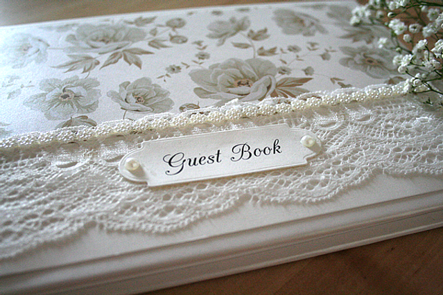 Capercaillie Cards - Wedding guest book - Vintage Marie
