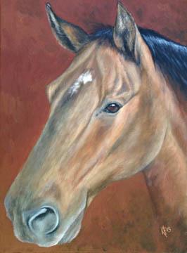 Sidney-Horse-Painting-Pet-Portrait