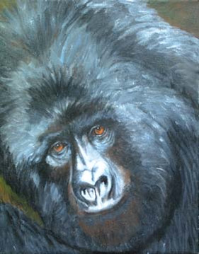 Bold-Compassion-Ape-Painting-Bust Portra