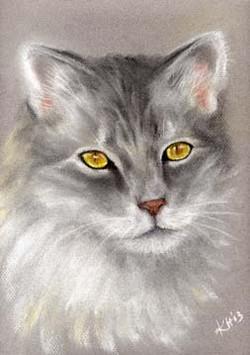 Sam-Gray-Cat-Painting-Pet-Portrait