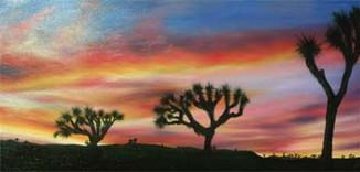 Arizona-Sunset-Desert-Landscape-Painting