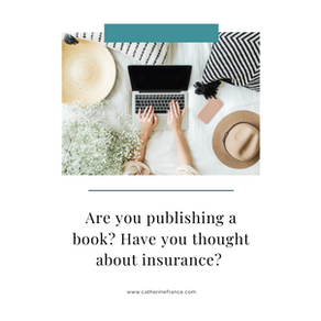 Are you publishing a book? Have you thought about insurance?
