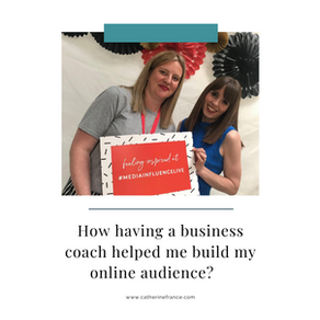 How having a business coach helped me build my online audience?
