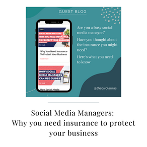 Social Media Managers: Why you need insurance to protect your business