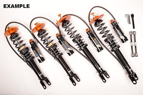 AST 5300 3-way Coilovers - Clio 3 RS