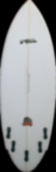 """5'8"""" The Bulldog Surfboard"""