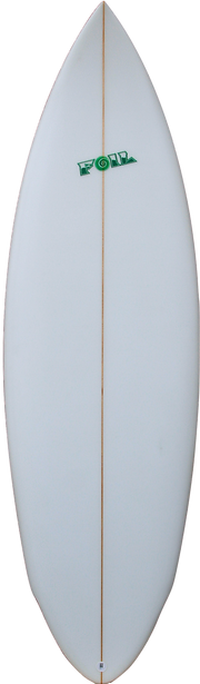 "6'4"" The Bulldog Surfboard"