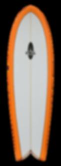 """5'8"""" FOIL Retro Fish Surfboard"""