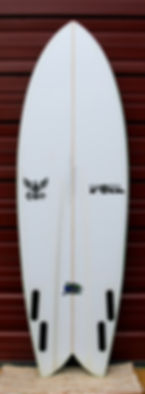 5'10_ FOIL the kraken surfboard