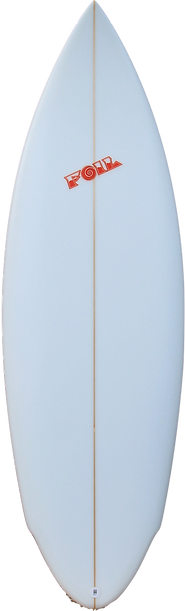 "5'8"" FOIL The Bulldog  short board surfb"