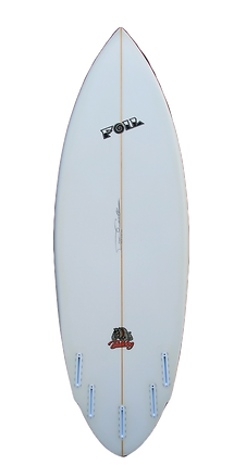 "5'10"" Bulldog Model Short board surfboard"