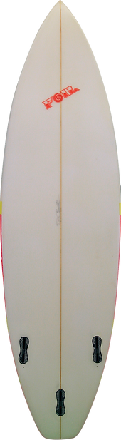 "6'3"" Short board surfboard"