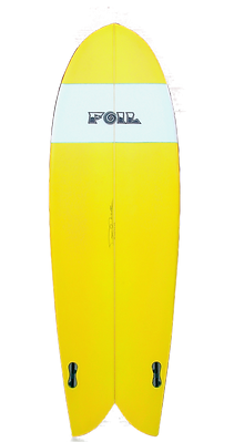 Retro Fish Surfboard