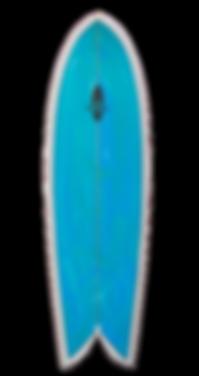 """6'0"""" FOIL Retro Fish Surfboard"""
