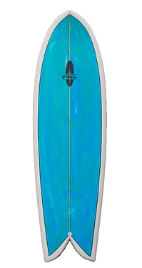 "6'0"" FOIL Retro Fish Surfboard"
