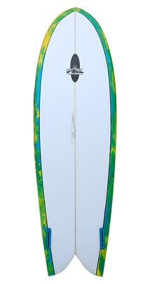 "6'0"" Retro Fish Surfboard"