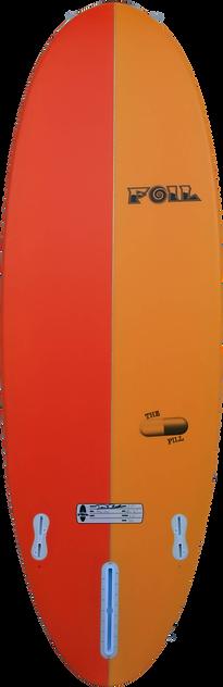 """5'6"""" FOIL short board surfboard"""