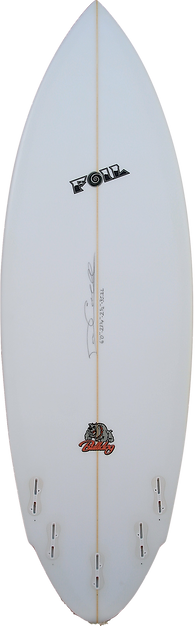 6'0_ FOIL The Bulldog surfboard