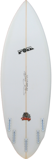 "5'6"" FOIL ""The Bulldog"" surfboard"