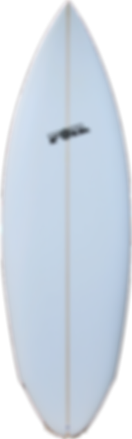 """5'8"""" FOIL """"The Bulldog"""" short board surf"""