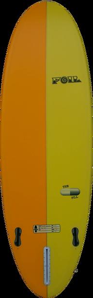 """6'0"""" FOIL The Pill surfboard"""