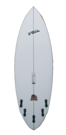 "5'10"" FOIL Surfboard Bulldog Model"