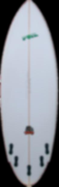 """6'4"""" The Bulldog Surfboard"""