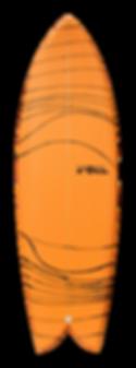 """5'7"""" FOIL """"The Kraken"""" surfboard"""