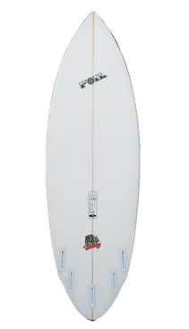"6'2"" FOIL The Bulldog surfboard"