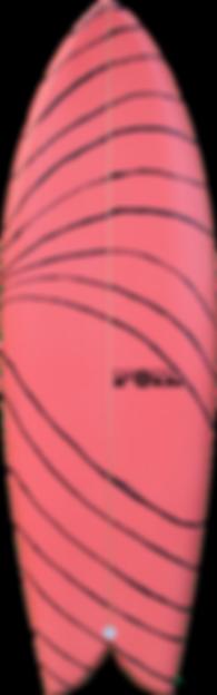 """5'4"""" FOIL surfboard The Kraken"""