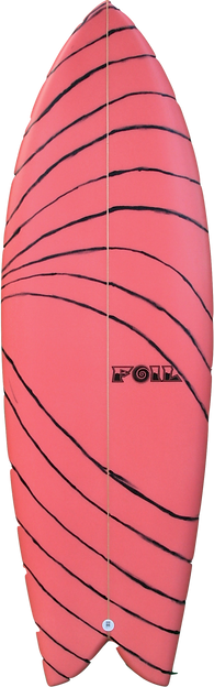 "5'4"" FOIL surfboard The Kraken"