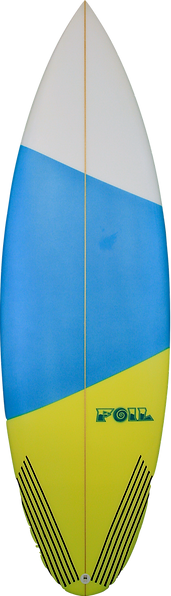 "5'8"" Short board surfboard"