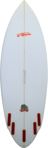 "5'10"" The Bulldog Surfboard"
