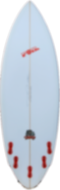 "5'8"" FOIL The Bulldog short board surfbo"