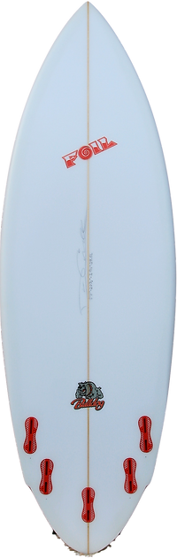 "5'8"" FOIL The Bulldog short board surfbo"