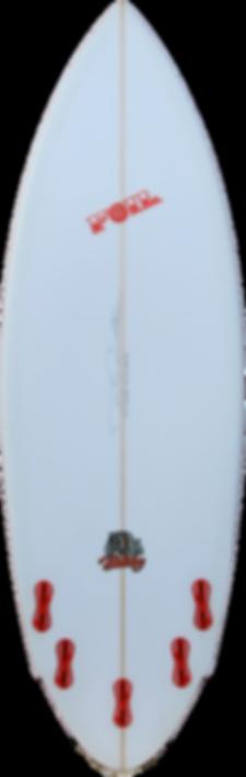 5'8_ FOIL The Bulldog short board surfbo