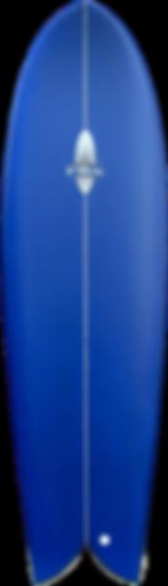 """5'10"""" FOIL Retro Fish Surfboard"""