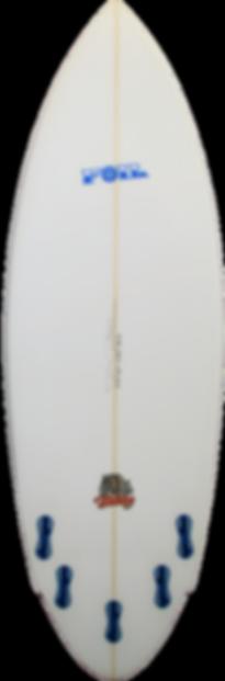"""5'10"""" The Bulldog Surfboard"""