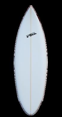 """5'10"""" The Bulldog short board surfboard"""