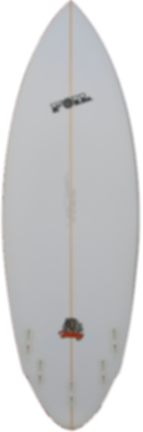 "5'10"" FOIL ""The Bulldog"" surfboard"