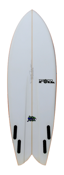 "5'7"" FOIL ""The Kraken"" surfboard"