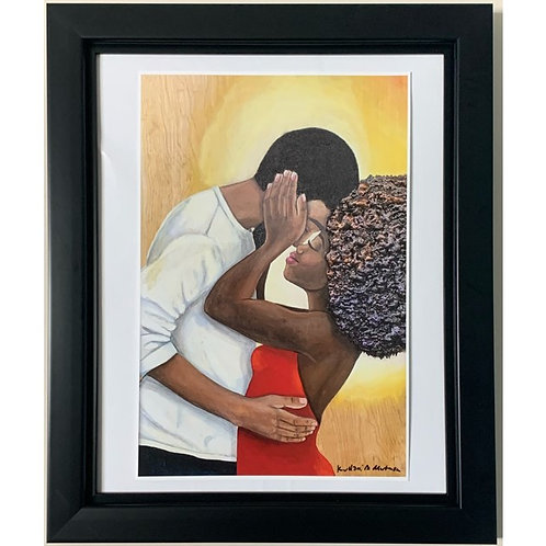 #BLACKLOVE PRINT *not framed