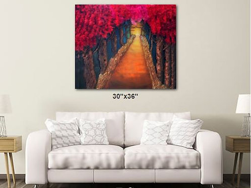 FAITH WALK CANVAS PRINT