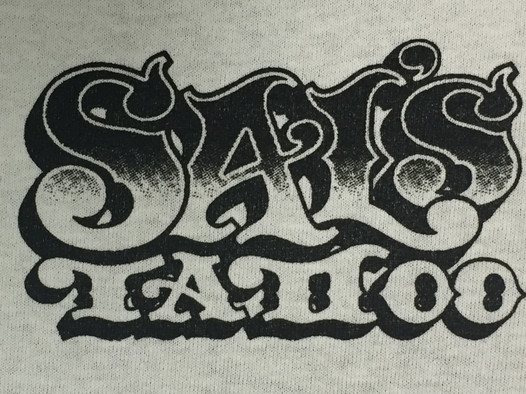 """SAL'S TATTOO"" HALFTONE CREST LOGO"