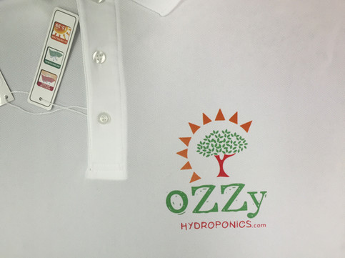 3 COLOUR LOGO ON DRY FIT POLO