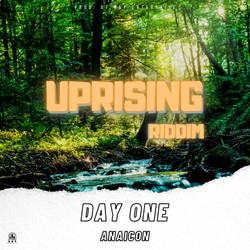 ANAICON DAY ONE UPRISING RIDDIM COVER AR