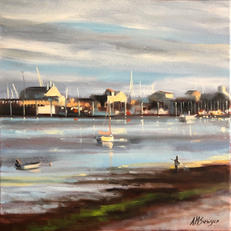 SOLD - Late Day, Low Tide