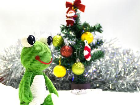 Le premier Noël de Grenouille Bouchard